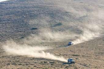 Dünyanın en büyük ve zorlu rallisinde Bolu etabı nefes kesti