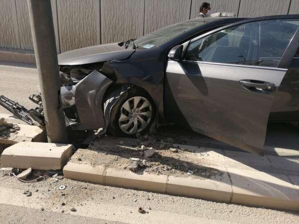 Bakan konvoyunda kaza, polisler ve haberciler yara almadan kurtuldu