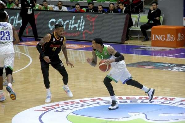 ING Basketbol Süper Ligi: L.H. Fethiye Belediyespor: 91 - Galatasaray: 82