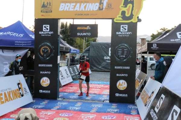 Mehmet Soytürk, Cappadocia Ultra Trail rekorunu kıramadı