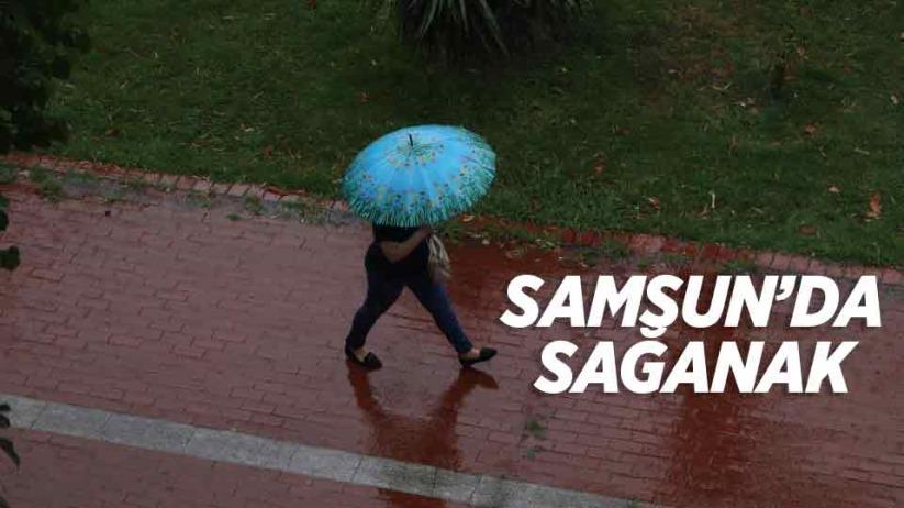 Samsunda sağanak yağış uyarısı - 17 Ekim Pazar