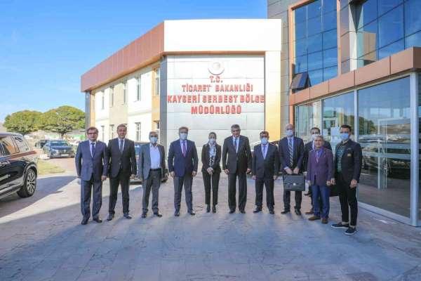 Başkan Palancıoğlu: Serbest bölgede istihdamın ve üretimin artması için çalışıyoruz