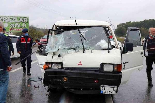 D-650 karayolunda zincirleme kaza: 3 yaralı