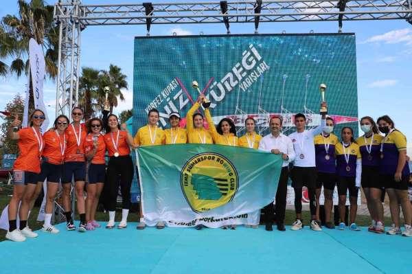 Körfez Kupası Deniz Küreği Yarışlarında İzmit Sümerspor fırtınası esti