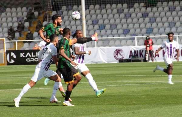 TFF 1. Lig: Ankara Keçiörengücü: 0 - Kocaelispor: 1