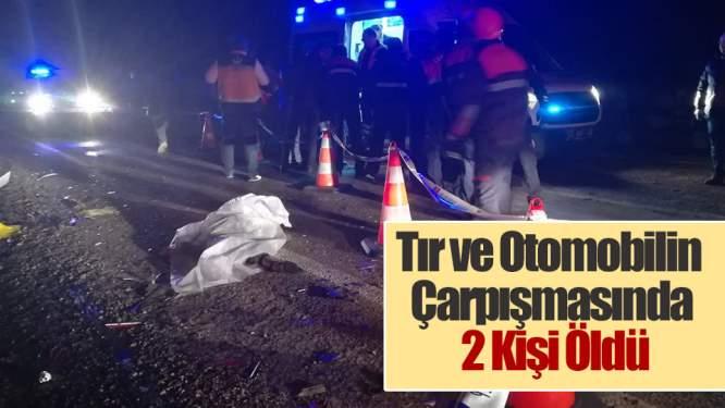 Samsun Haberleri: Tır ve Otomobilin Çarpışmasında 2 Kişi Öldü