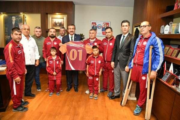 Başkan Çetin: 'Engellilerin her zaman yanındayız'