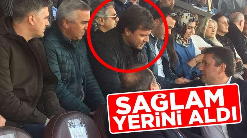 Ertuğrul Sağlam Samsunspor maçını izliyor