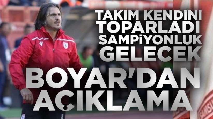Recep Sermet Boyar'dan açıklama