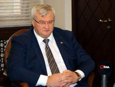 Ukrayna Büyükelçisi Sybiha'dan İHA anlaşması yorumu