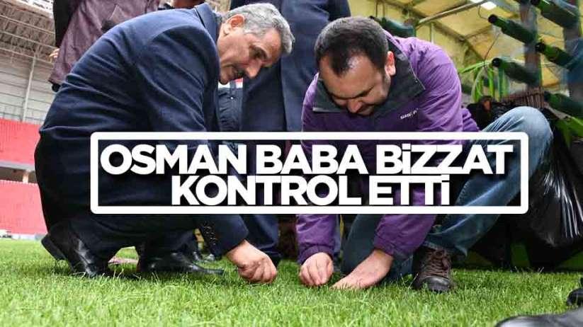 Samsun Valisi Osman Kaymak Samsunspor Stadı'nı inceledi