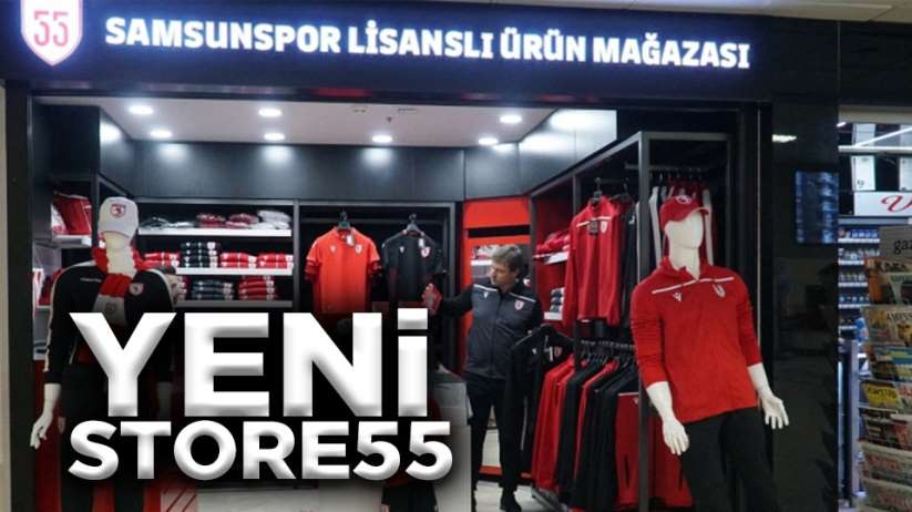 Samsunspor yeni store 55