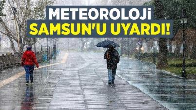 Meteoroloji Samsun'u uyardı! 17 Ocak 2021