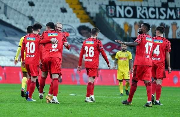 Ziraat Türkiye Kupası: Beşiktaş: 3 - Tarsus İdman Yurdu: 1 (Maç sonucu)