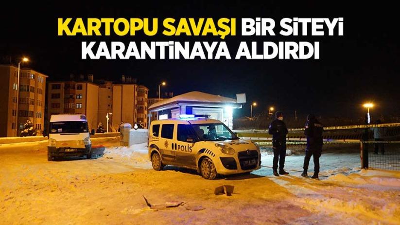 Samsun'dan Kastamonu'ya gittiler! Site karantinaya alındı