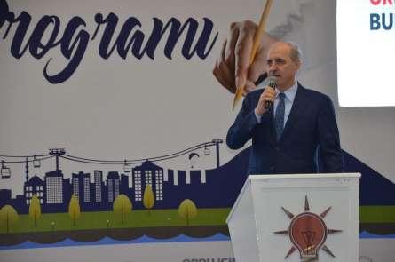 Numan Kurtulmuş: 'Türkiye, dünyanın en büyük 10 ekonomisinden birisi olacak'