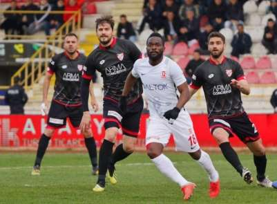 Spor Toto 1. Lig: Boluspor: 1 - Balıkesir Baltok: 0