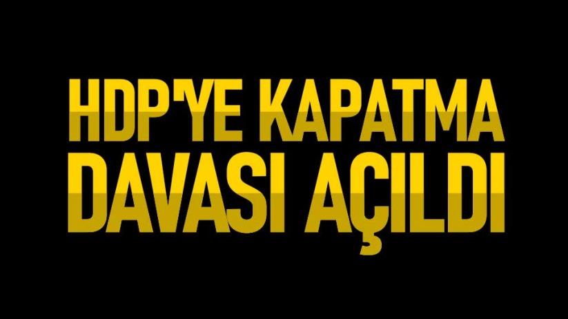 HDPye kapatma davası açıldı