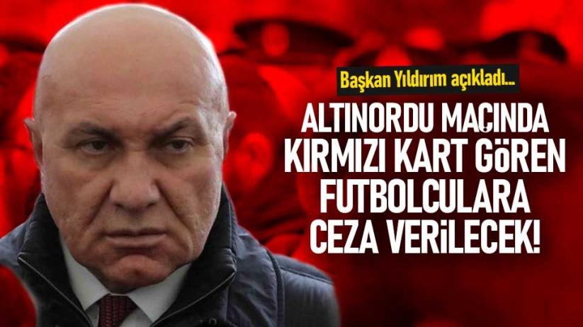 Samsunsporda kırmızı kart gören futbolculara ceza verilecek!