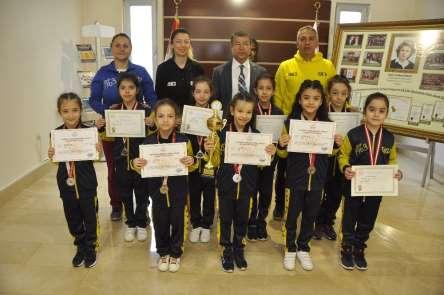 Gaziantep Kolej Vakfı Sporcularının Artistik Cimnastik Başarısı