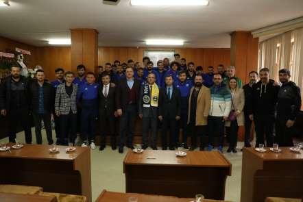 Başkan Kibar, Fatsa Belediyespor'u ağırladı