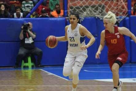 Kadınlar Basketbol Süper Ligi: Hatay Büyükşehir Belediyespor: 62 - Galatasaray: