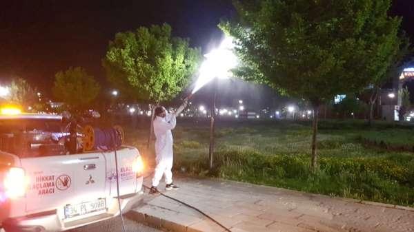 Elazığ'da haşerelere karşı ilaçlama