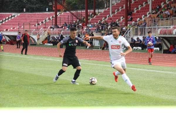 Spor Toto 1. Lig: Balıkesirspor Baltok: 0 - Hatayspor: 3