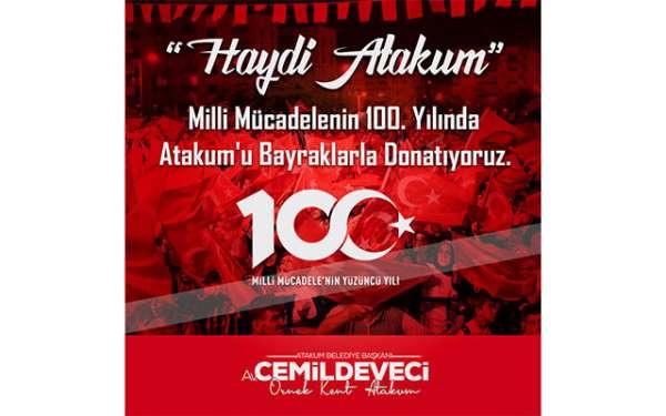 Başkan Cemil Deveci'den Atakumlulara çağrı var
