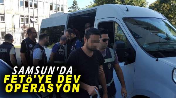 Samsun merkezli dev operasyon:8 gözaltı