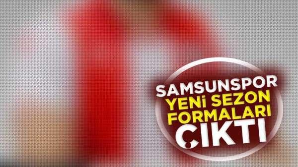Samsunspor 2019 yeni sezon formaları