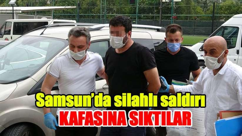 Samsun'da 2 kişinin silahlı yaralanmasına 4 gözaltı