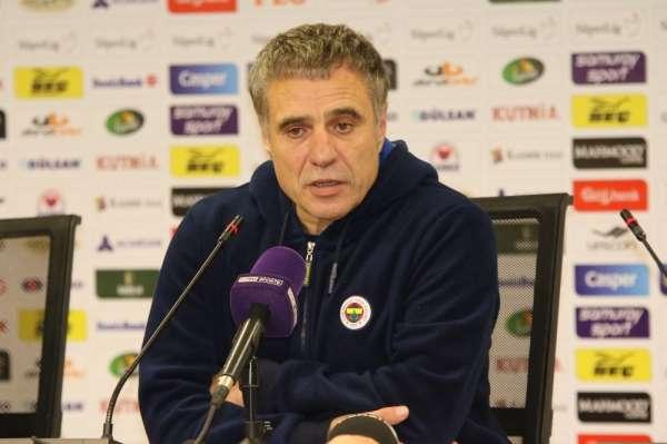 Ersun Yanal: 'Fenerbahçe maça her zaman hakim olan takımdır'