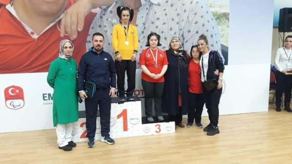 Kırıkkaleli özel sporcular Türkiye Şampiyonasında