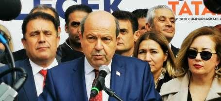 KKTC Başbakanı Tatar: 'Cumhurbaşkanlığına aday oldum kazanacağıma inanıyorum'