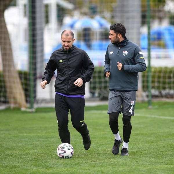 Bursaspor'da Adana Demirspor maçı hazırlıkları başladı