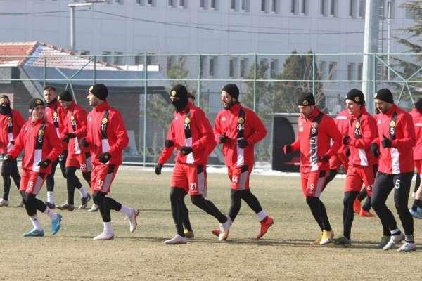Eskişehirspor, Bandırmaspor maçı hazırlıklarını tamamladı