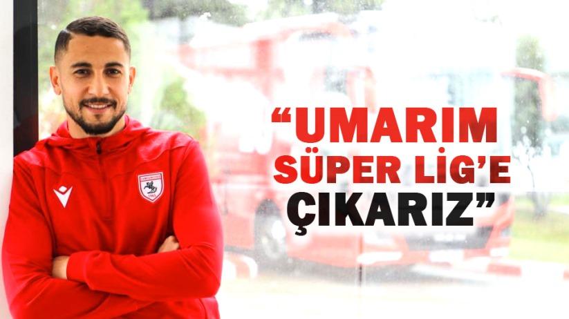 Jugurtha Hamroun: 'Umarım Süper Lig'e çıkarız'