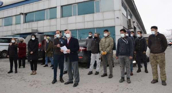 İşsiz kalan 50 işçi mücadele kararı aldı