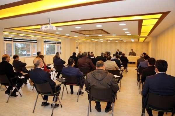 Mardin'de Altyapı Koordinasyon Merkezi genel kurul toplantısı yapıldı