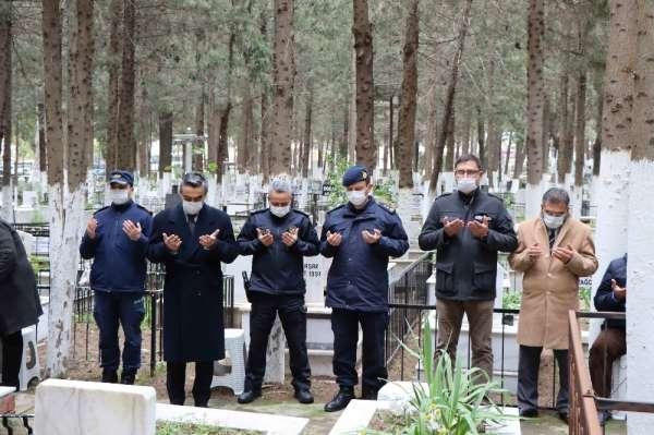 Şehit polis Fuat Kaplan Kuşadası'nda dualarla anıldı