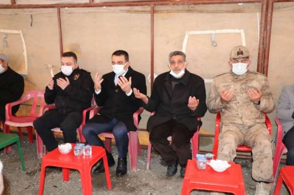 Siirt'te Şehit Jandarma Er Süleyman Sungur için mevlit okutuldu