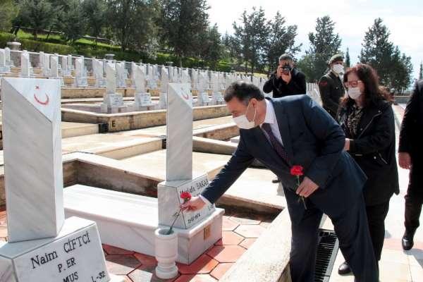 18 Mart Çanakkale şehitleri KKTCde törenle anıldı
