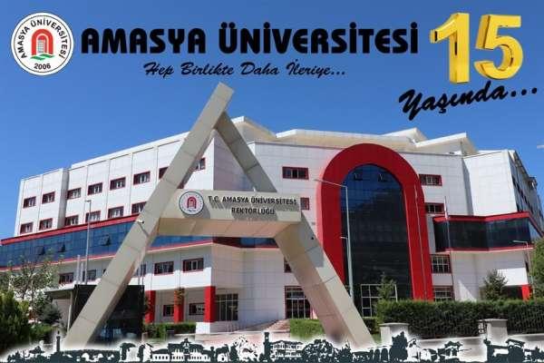 Amasya Üniversitesi 15 yaşında