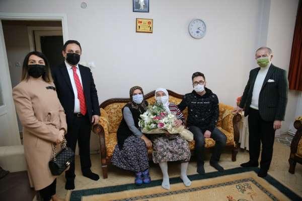 Başkan Aydınerden şehit ailelerine ziyaret