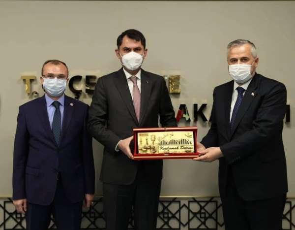 Başkan Kılıç: Ankara temasları oldukça verimli geçti