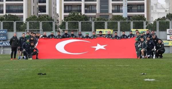 Bursaspor, Adanaspor maçının hazırlıklarına devam etti