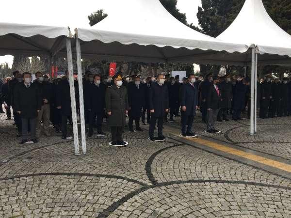 Çanakkale Şehitleri Edirnekapı Şehitliğinde anıldı
