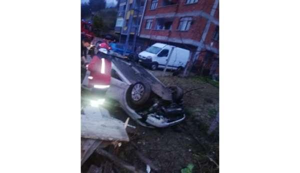 Devrekte trafik kazası: 1 yaralı