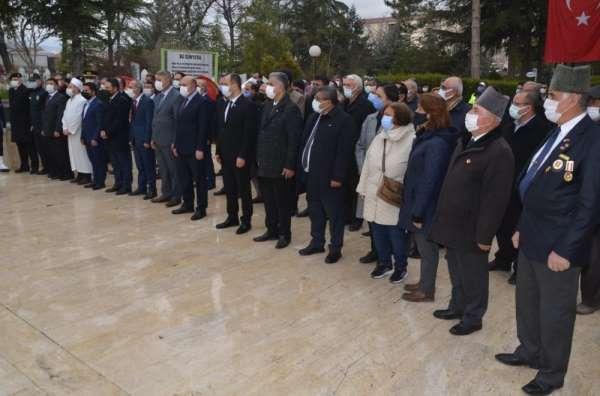 Ereğlide 18 Mart Şehitleri Anma programı